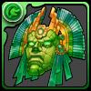 緑の神仮面