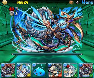 【パズドラ】「水の護神龍」高速周回テンプレパーティ