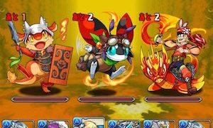 【パズドラ】「火のアンケートカーニバル」Sランク攻略パーティ