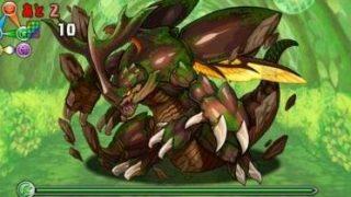 【パズドラ】「地の蟲龍」Sランク攻略パーティ
