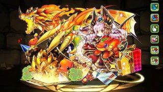 【パズドラ】火コットンパーティの最強テンプレ