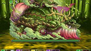 【パズドラ】「木の戦武龍」Sランク攻略パーティ